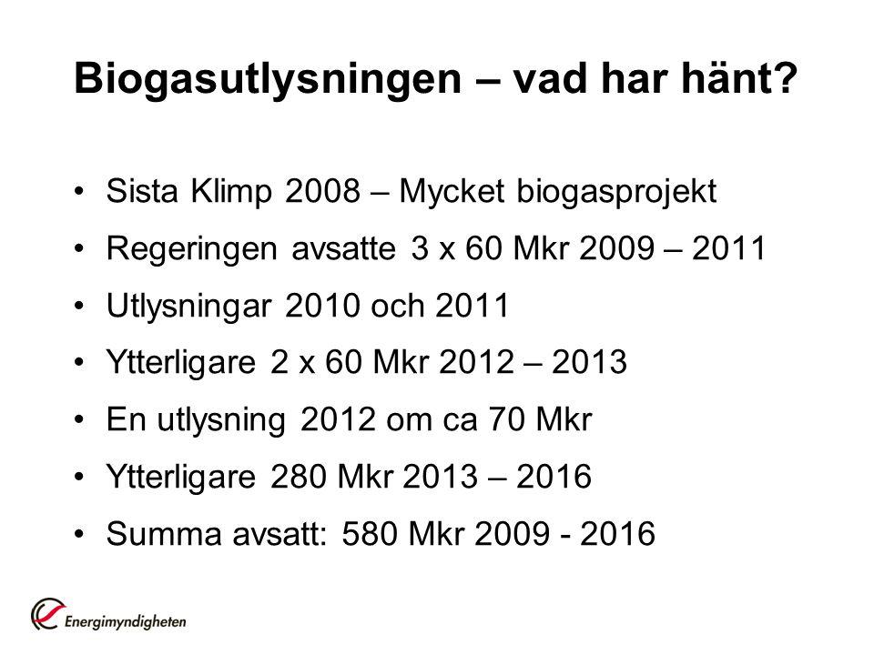 Utfall och planer för 2013 •2010: 108 Mkr beviljat varav 48 Mkr återfört •2011: 58 Mkr beviljat varav 8 Mkr återfört •2012: ca 70 Mkr kommer att beviljas •2013: ca 110 Mkr kommer att utlysas under våren