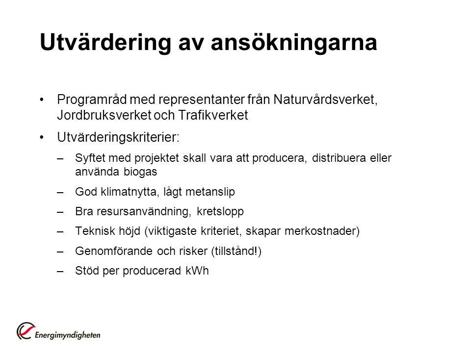 Att tänka på när ansökan skrivs •Stöd söks via E-kanalen (www.energimyndigheten.se) •Kunden är stödmottagare – inte leverantören.