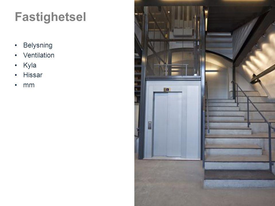 Sammanfattning Innan man dimensionerar de tekniska installationerna är det viktigt att se över energibehovet i byggnaden.