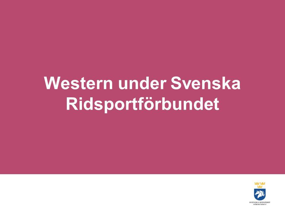 Western under Svenska Ridsportförbundet