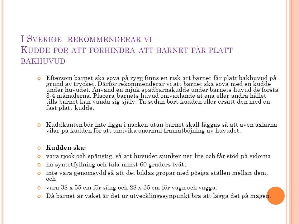 V ARJE BVC OCH BVC- SJUKSKÖTERSKA SOM DELTAR ÄR JÄTTEVIKTIG !.