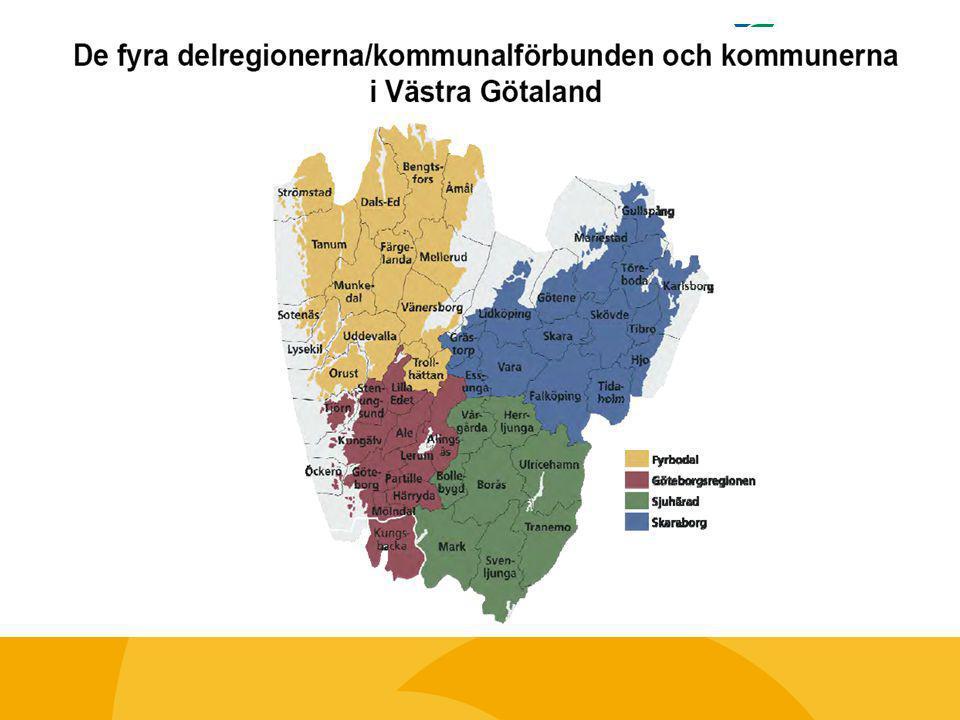 Region - Kommunalförbund Kompetensplattform Västra Götaland Politisk förankring: BHU, RUN Kompetensplattform VG Göteborgsregionen Kompetensplattform VG Fyrbodal Kompetensplattform VG Skaraborg Kompetensplattform VG Sjuhärad