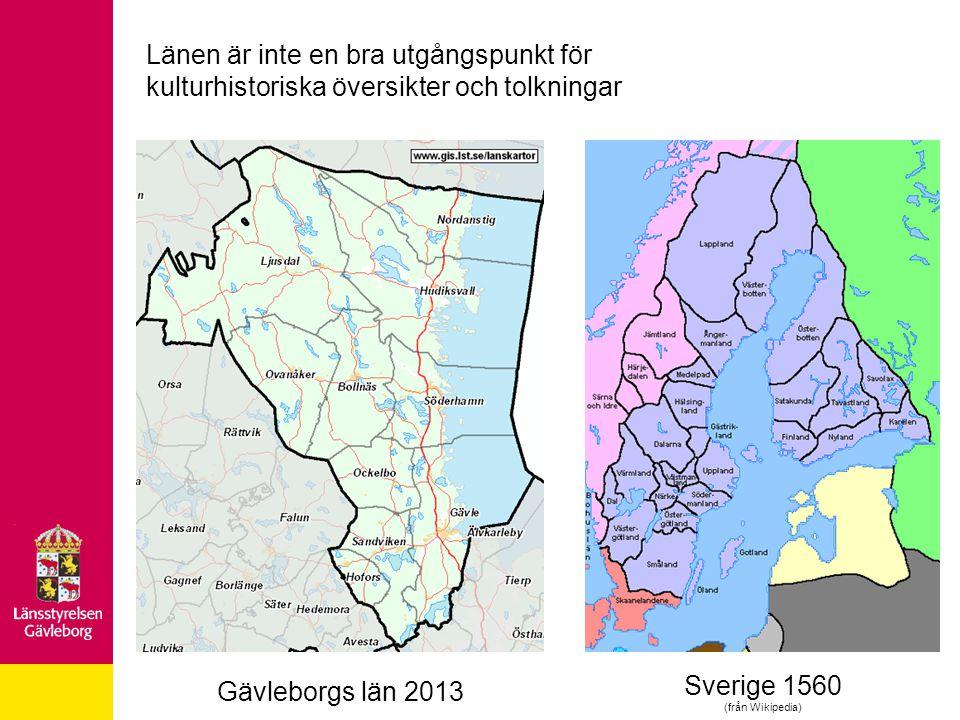 Gävleborgs läns tudelade förhistoria och medeltid Ca 1800 norrländska högar i Hälsingland Ca 200 yngre järnåldershögar i Gästrikland