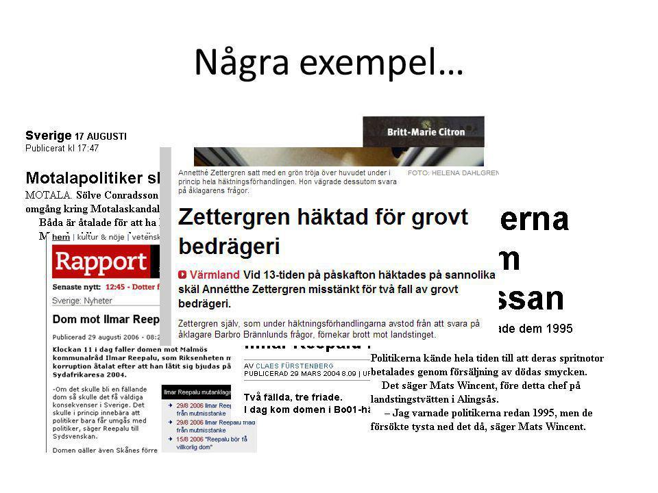 Strategier för att motverka svensk korruption.