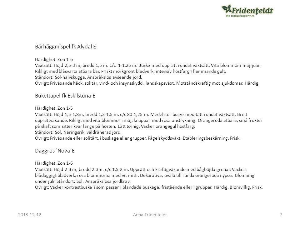 2013-12-12Anna Fridenfeldt Koreatry Kristall' E 18