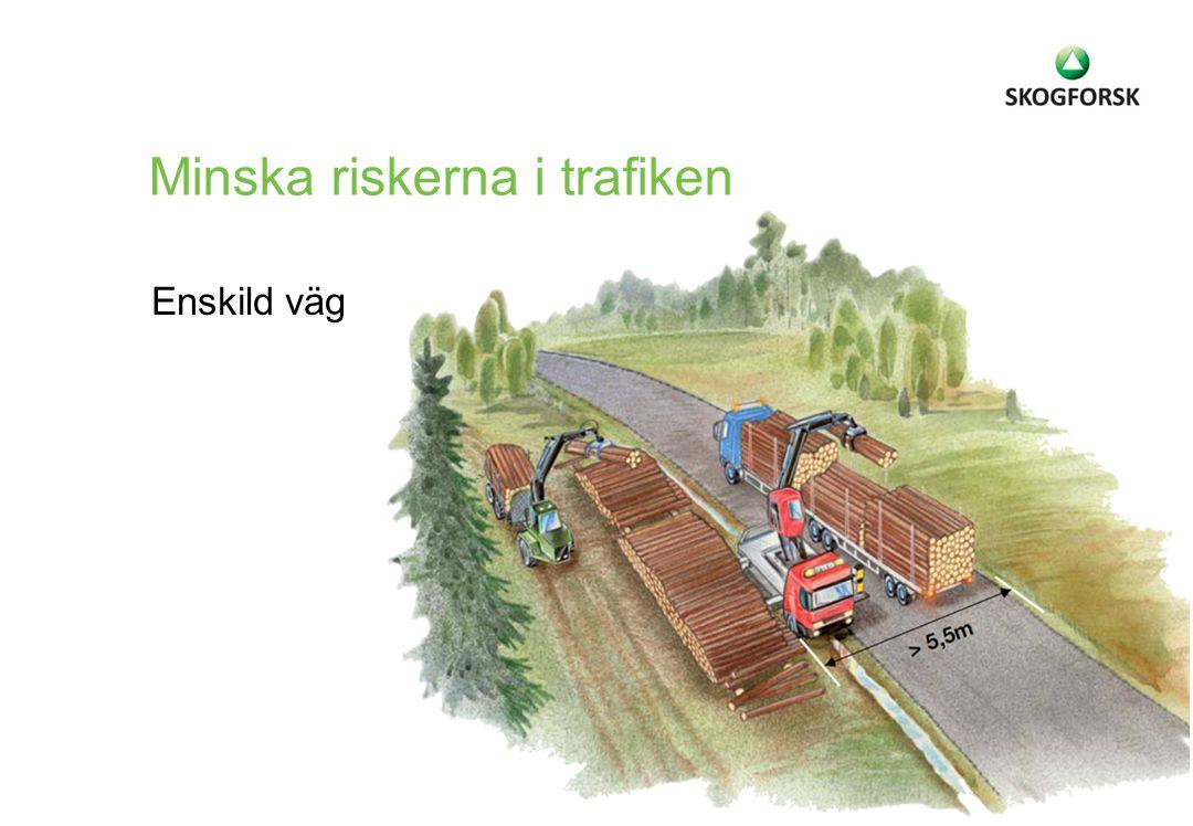 Enskild väg Minska riskerna i trafiken