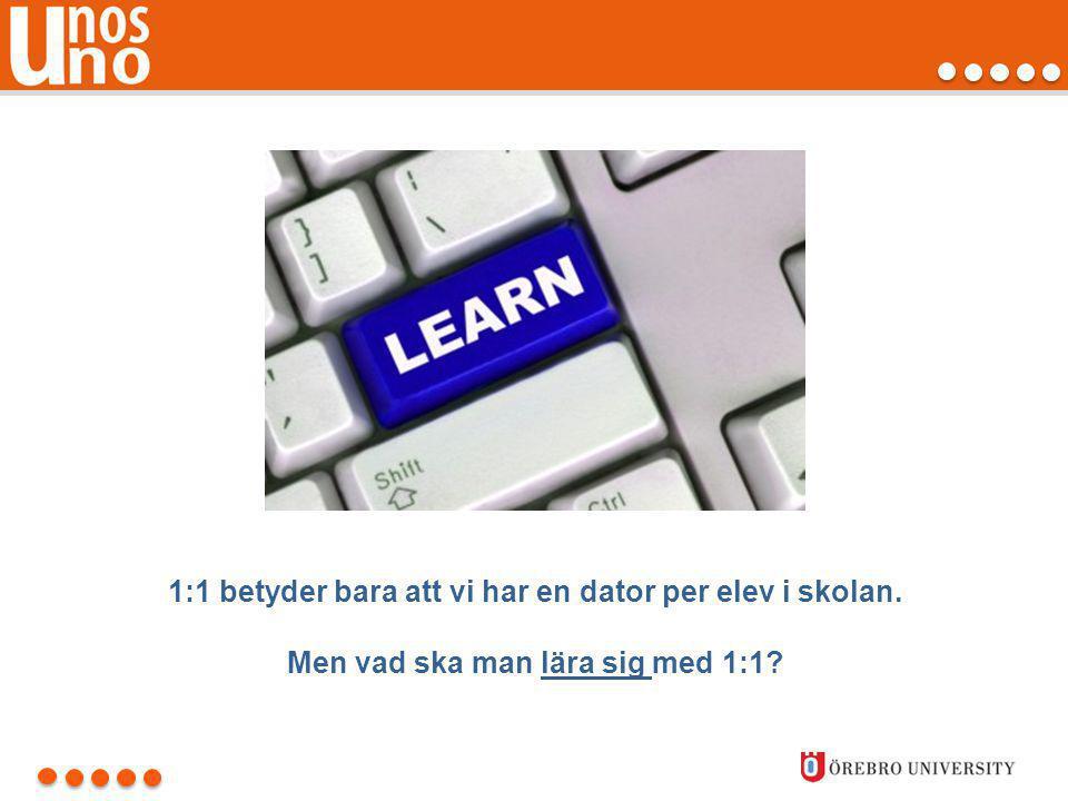 Lärarnas självuppfattade IKT- kunskaper 2013