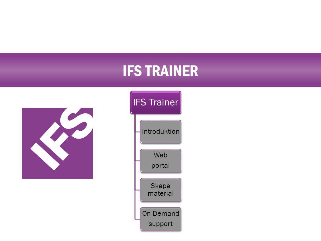 IFS TRAINER