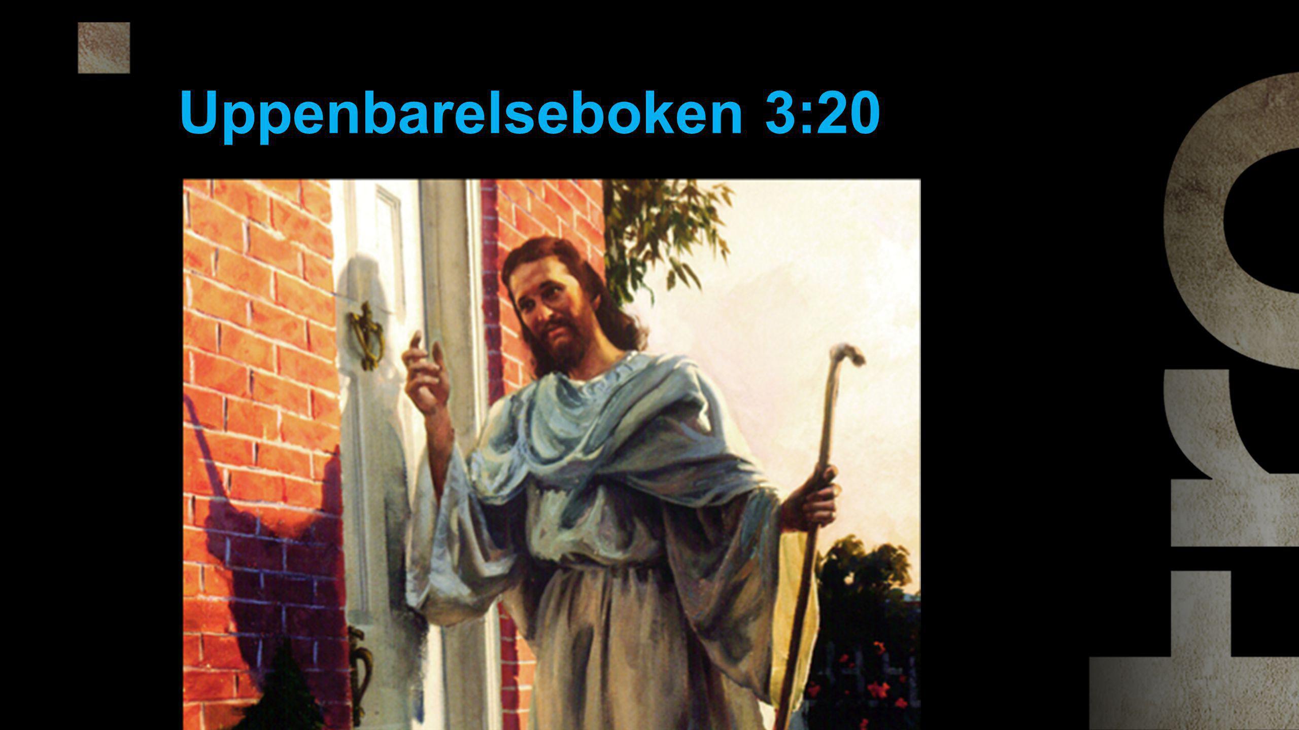 Uppenbarelseboken 3:20