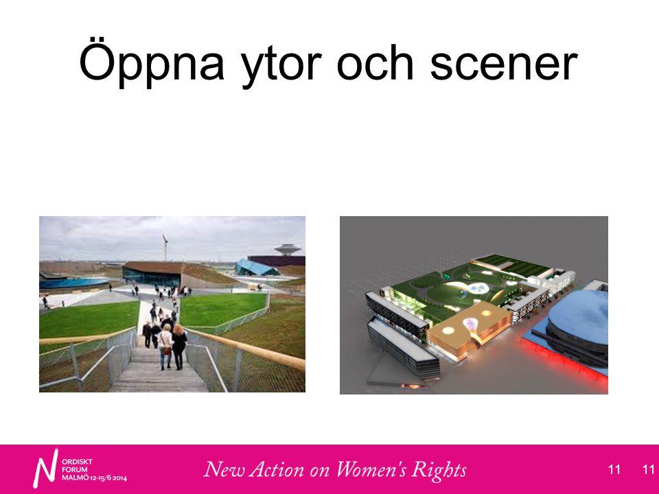 11 Öppna ytor och scener 11