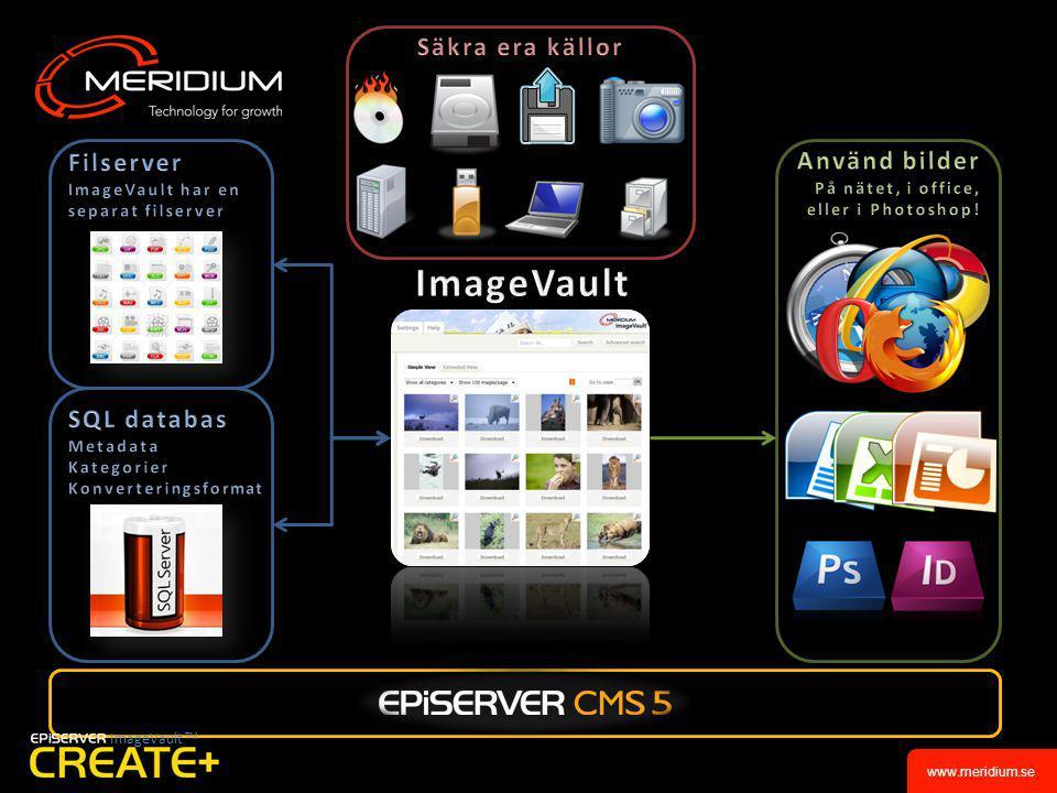 www.meridium.se ImageVault TM