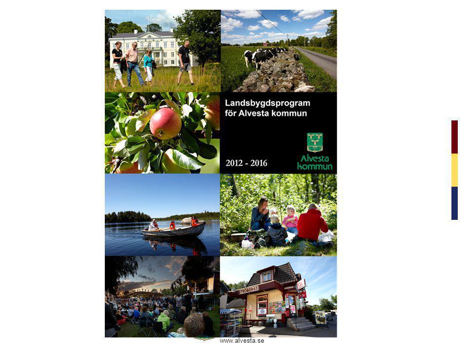 www.alvesta.se 5 Kommunen fortsätter att bidra till det enskilda vägnätet i kommunen och samlar ordförande till regelbundna träffar.