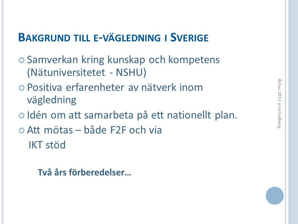 FÖRDELAR Århus 2011 mia lindberg  Process kan fortgå trots att man rör sig geografiskt eller då den sökande inte har möjlighet att komma till ett face-2-face möte.
