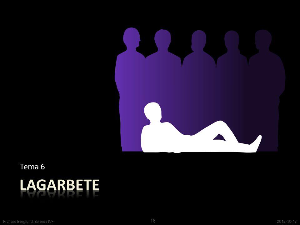 Tema 6 2012-10-17 16 Richard Berglund, Swerea IVF