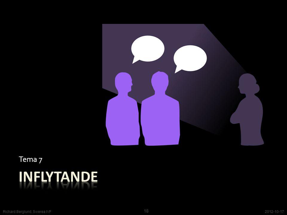 Tema 7 2012-10-17 18 Richard Berglund, Swerea IVF