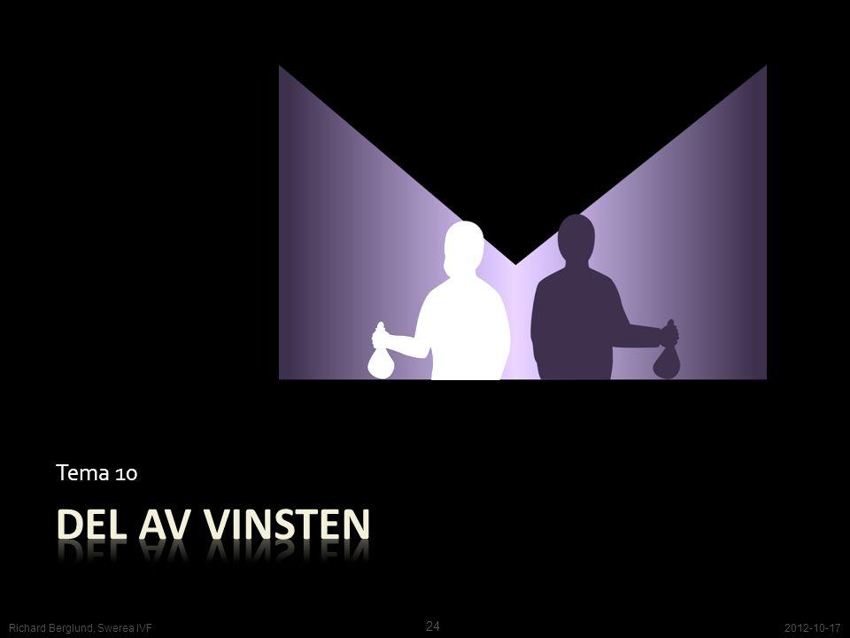 Tema 10 2012-10-17 24 Richard Berglund, Swerea IVF