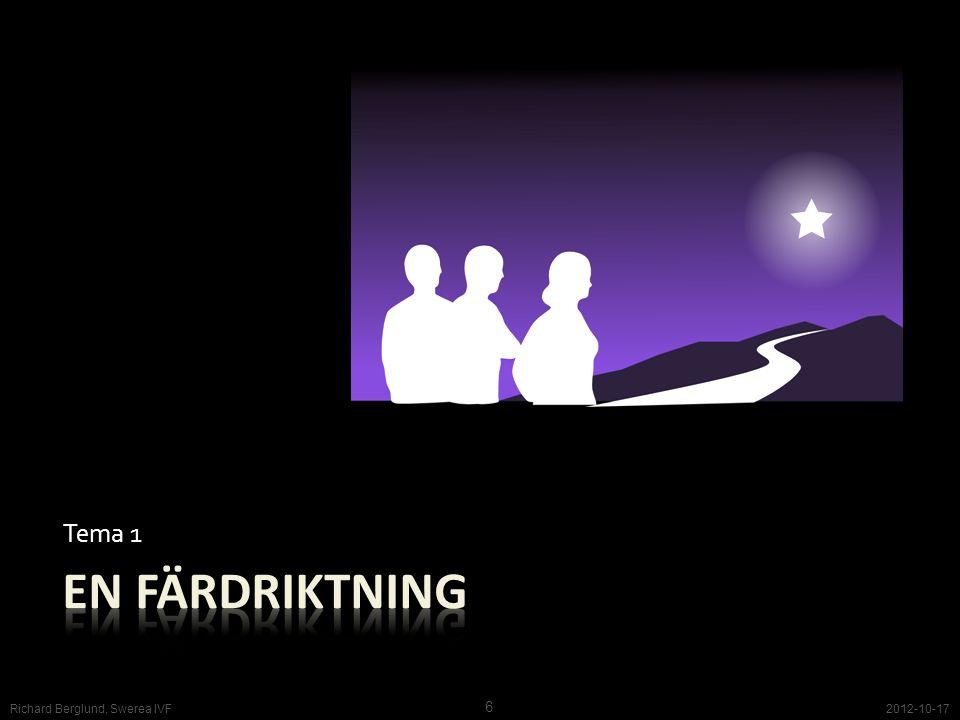 Tema 1 2012-10-17 6 Richard Berglund, Swerea IVF