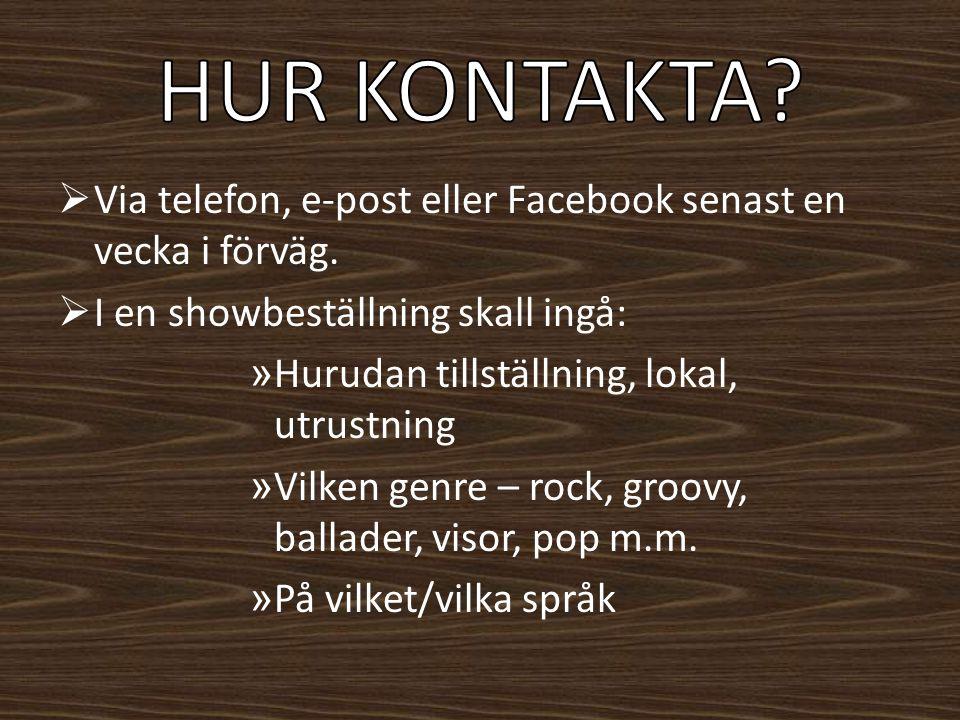 » Speciell låt/låtar » Instrumentönskemål, t.ex.