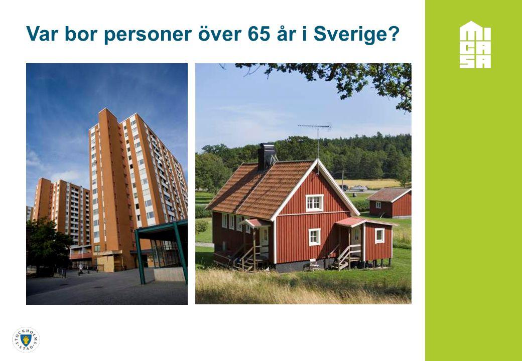 Var bor personer över 65 år i Sverige?