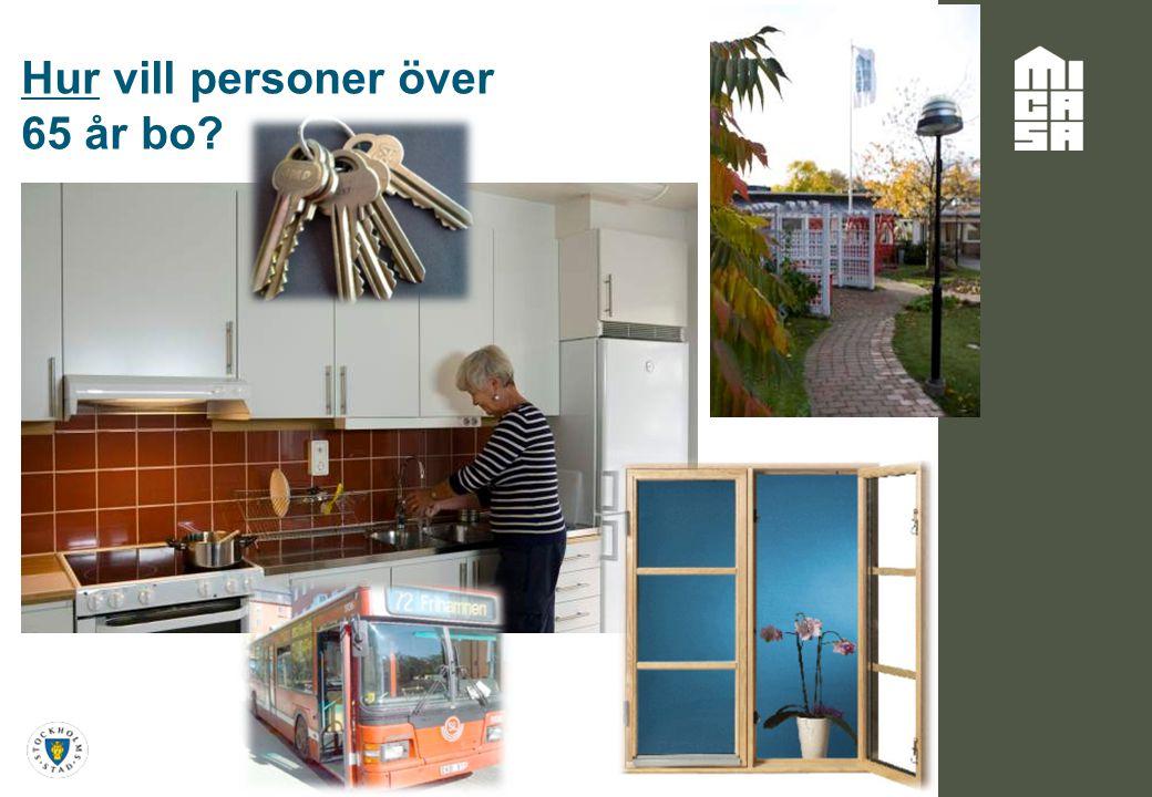 Hur vill personer över 65 år bo?
