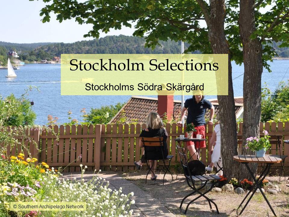 Stockholm Selections Stockholms Södra Skärgård © Southern Archipelago Network
