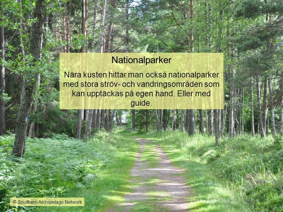 Nationalparker Nära kusten hittar man också nationalparker med stora ströv- och vandringsområden som kan upptäckas på egen hand. Eller med guide. © So