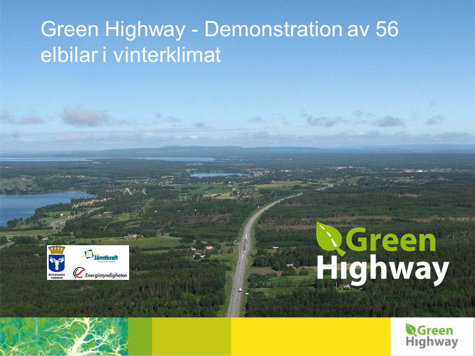 Miljöbilar är en del av Östersunds kommuns klimatarbete Växthusgasutsläppen har minskat med 44 % mellan 1990-2007 Målsättning 60 % 1990-2020