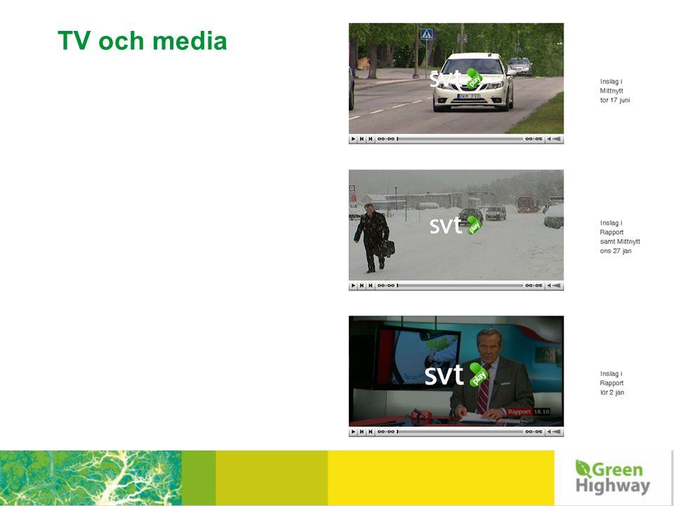 TV och media