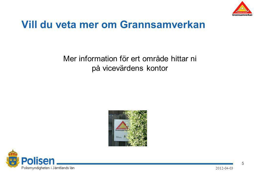 6 Polismyndigheten i Jämtlands län 2012-04-03 Kontakta Polisen Vill Ni komma i kontakt med Polisen.