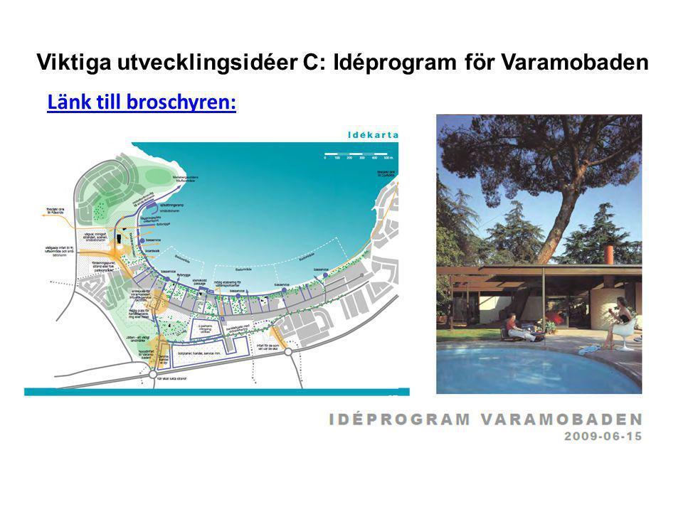 Viktiga utvecklingsidéer C: Idéprogram för Varamobaden Länk till broschyren: