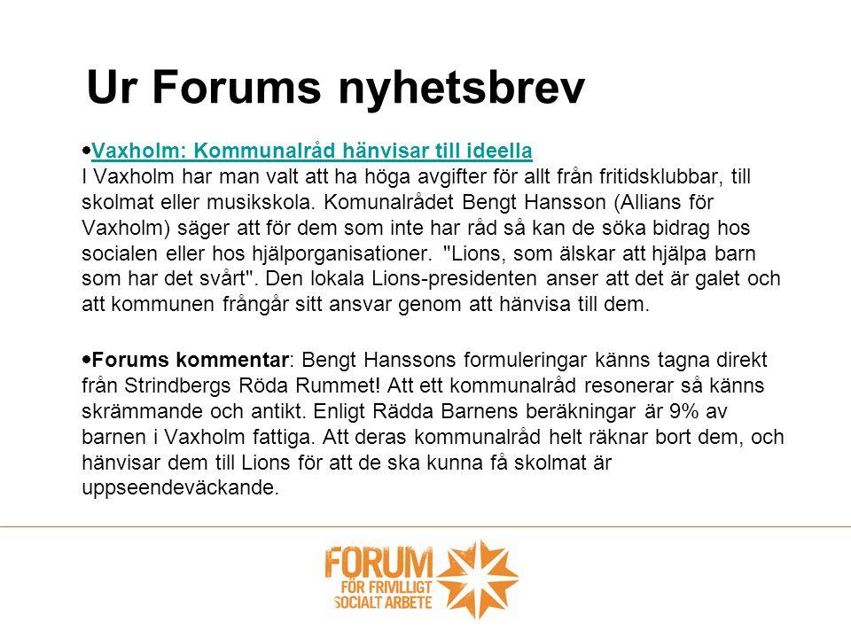  Vaxholm: Kommunalråd hänvisar till ideella I Vaxholm har man valt att ha höga avgifter för allt från fritidsklubbar, till skolmat eller musikskola.