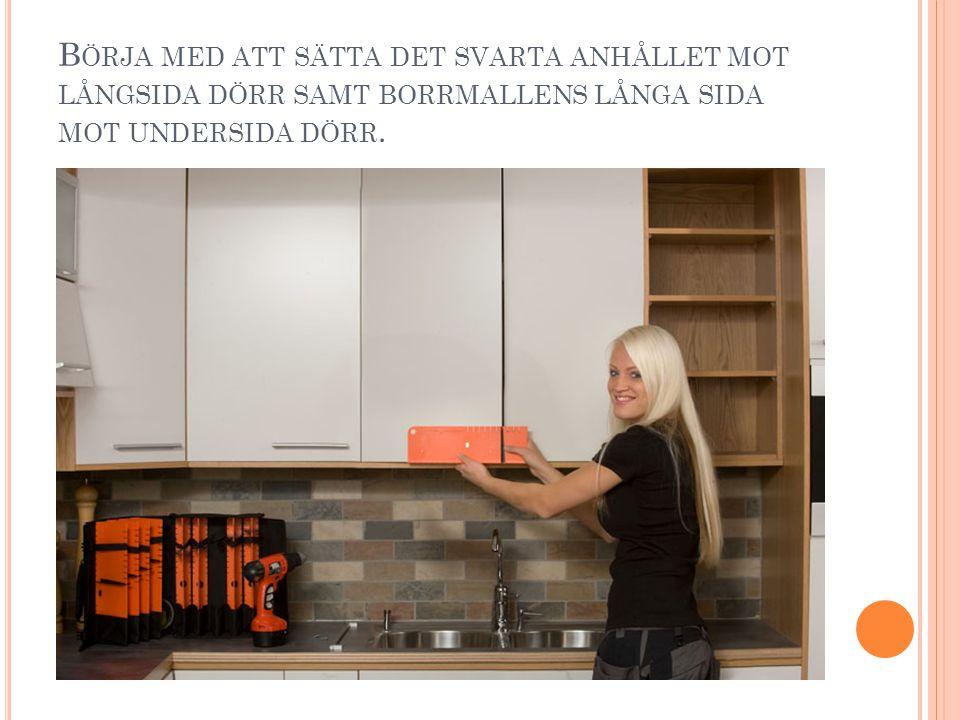 S AMMA BORRMALL FÖR MONTERING AV LÅDOR