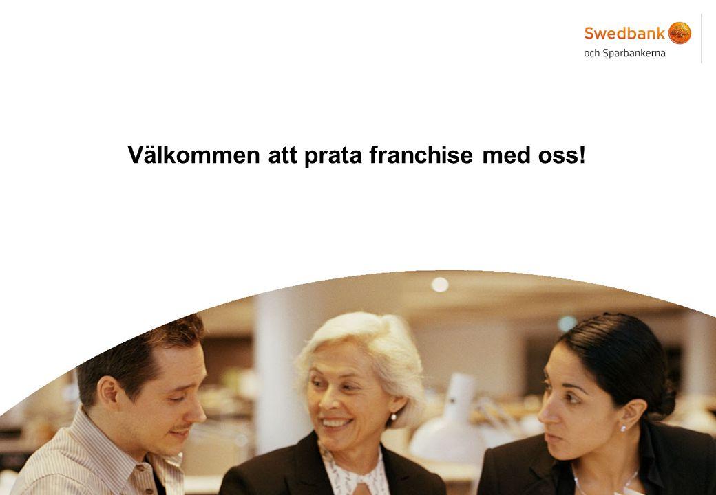 15 Välkommen att prata franchise med oss!