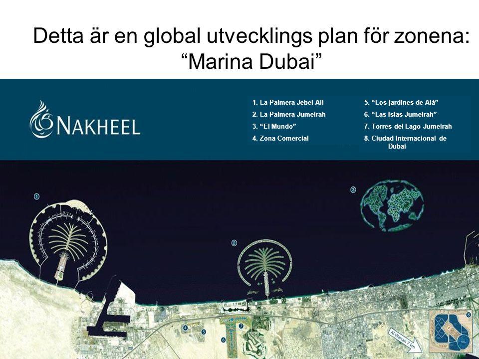 Detta är en global utvecklings plan för zonena: Marina Dubai 5.
