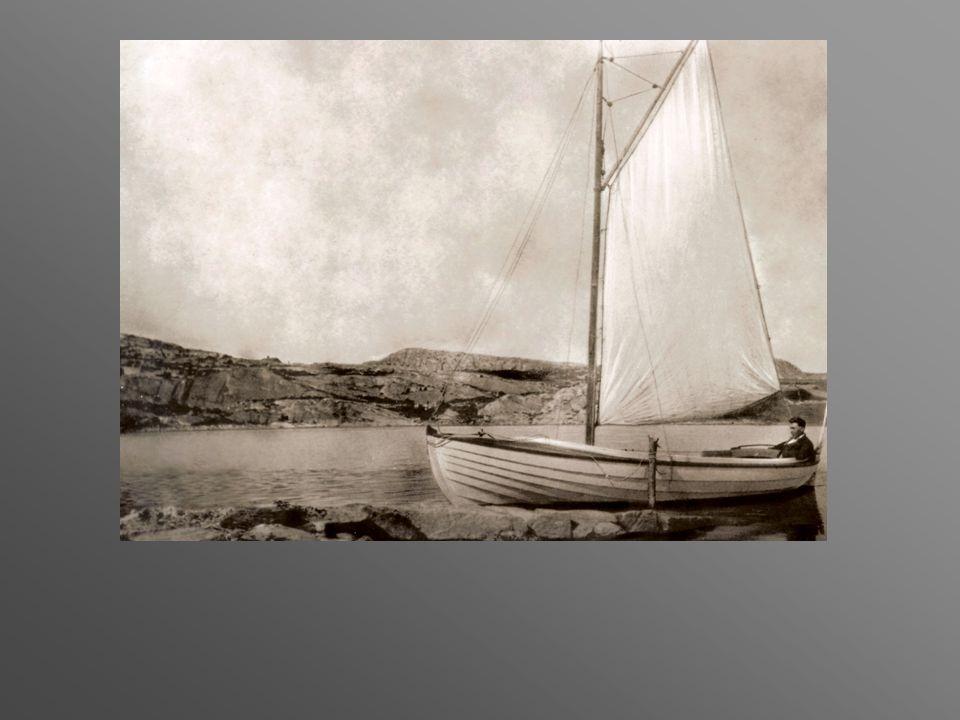 slut Knut beställer segel till båten för 104 kronor.