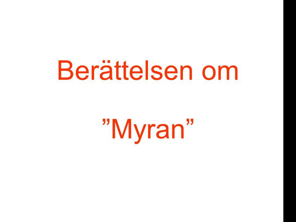 or Berättelsen om Myran