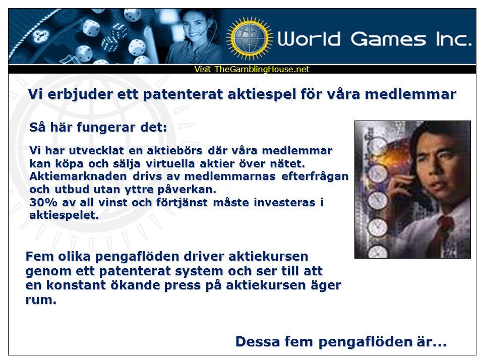 World Games Inc Inviterar Dig att bli medlem i ett enkelt, mäktigt, högteknologiskt, världsomfattande och roligt system för ekonomisk förtjänst via in