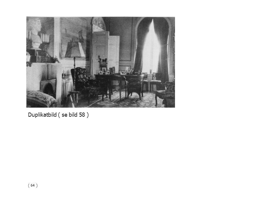 Duplikatbild ( se bild 58 ) ( 64 )