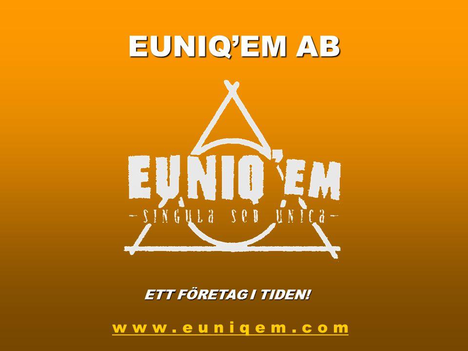 """Kommande projekt Under 2004 planerar EUNIQ'EM i samarbete med kulturföreningen """"Nybyggarnas Barn"""" att starta en förstudie för kulturprojektet """"Folkmus"""