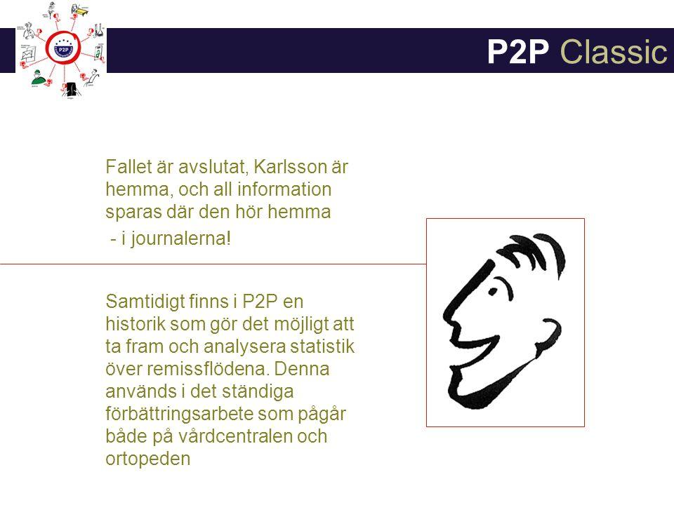 Fallet är avslutat, Karlsson är hemma, och all information sparas där den hör hemma - i journalerna.