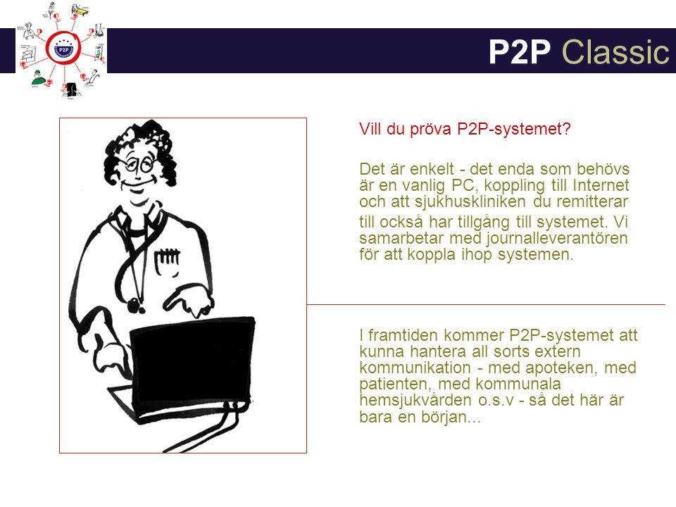 Vill du pröva P2P-systemet.