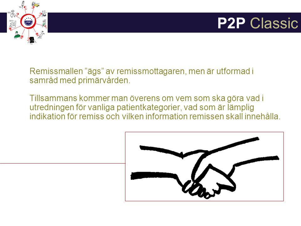Remissmallen ägs av remissmottagaren, men är utformad i samråd med primärvården.