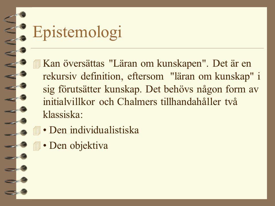 Epistemologi 4 Kan översättas