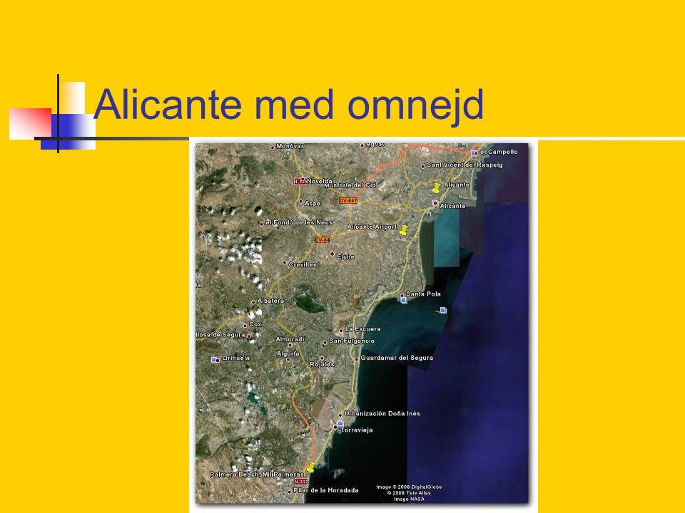 Alicante med omnejd