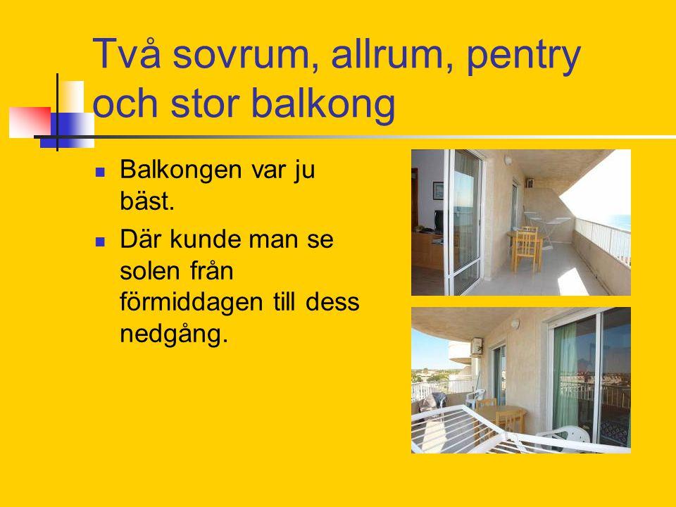 En titt på lägenheten