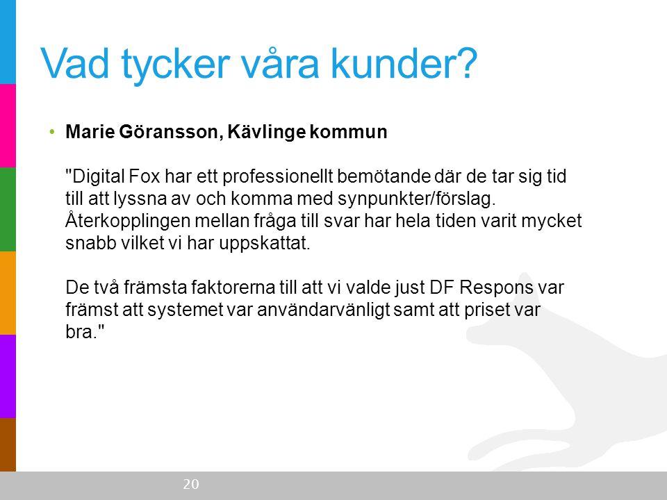 •Marie Göransson, Kävlinge kommun