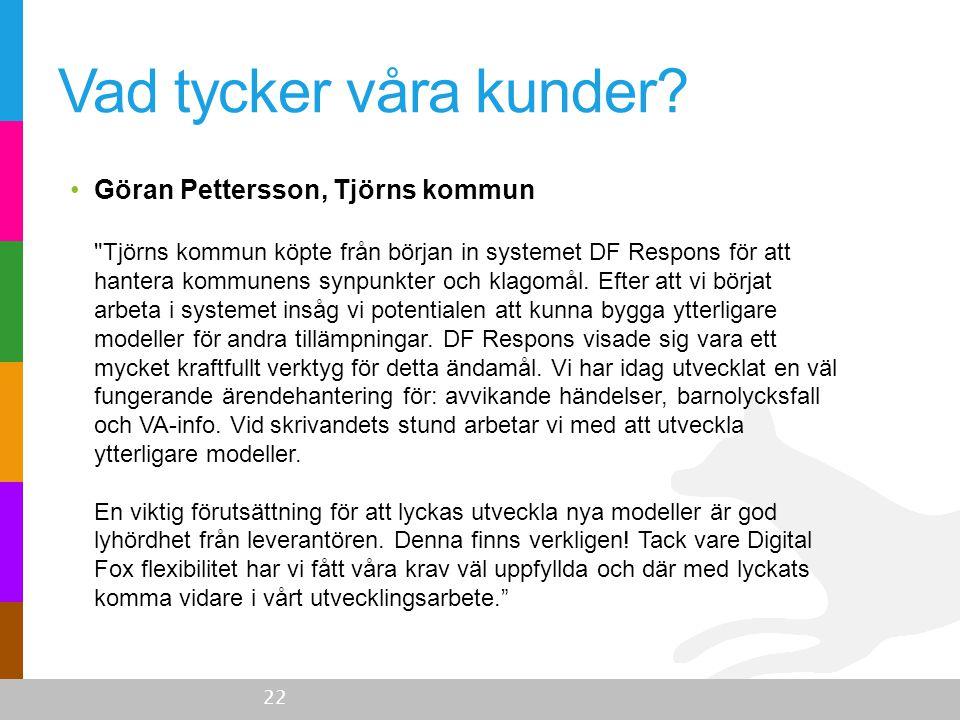 •Göran Pettersson, Tjörns kommun