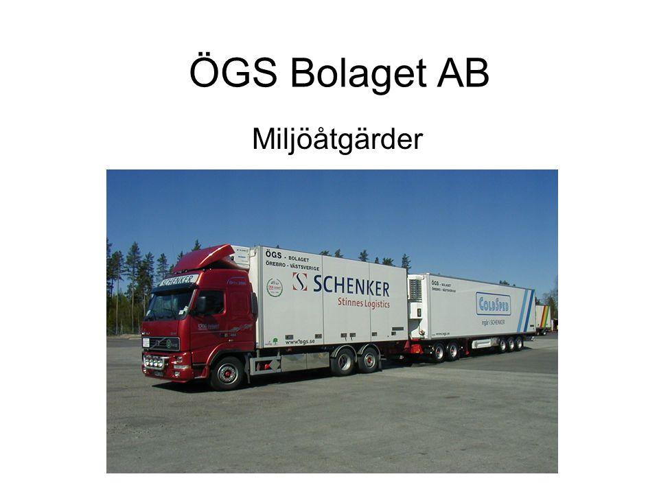 Viktiga miljöåtgärder •2009-05-04 –ÖGS Bolaget går med som en av grundarna till Örebroregionens klimatupprop •2009-10-19 –Vi hoppas att fler väljer att gå med för att visa sitt engagemang för miljön och framtiden.