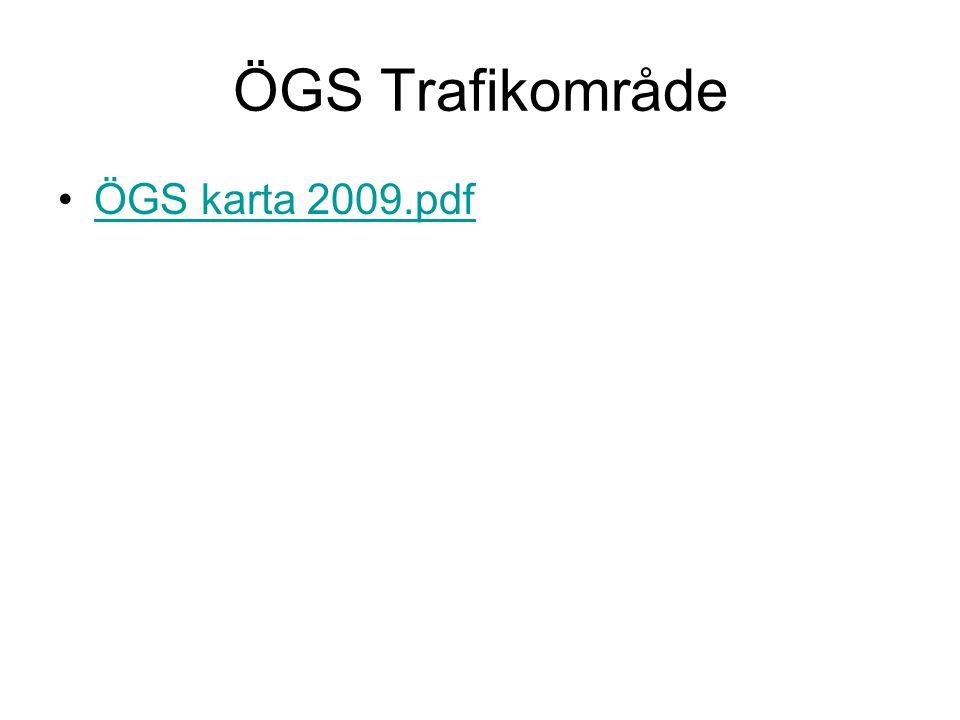 Viktiga miljöåtgärder •1956 Bildas Bertils transport, som 1976 blir ÖGS Bolaget.