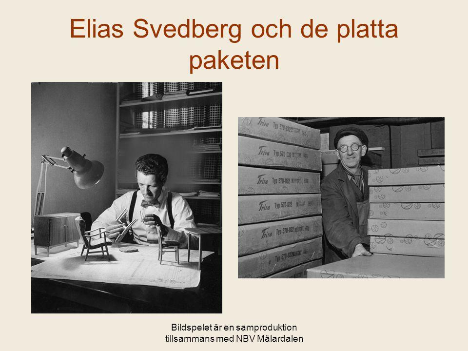 Bildspelet är en samproduktion tillsammans med NBV Mälardalen Elias Svedberg och de platta paketen